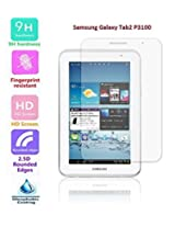 FEYE Premium 0.40mm Tempered Glass Screen Protector For Samsung Galaxy Tab2 P3100