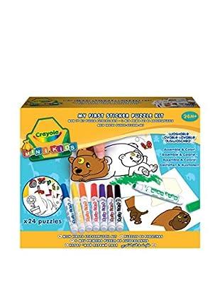 Crayola Mini Kids Mi Primer Puzzle De Pegatinas