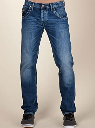 Pepe Jeans London Vaquero Tooting (Azul Oscuro)