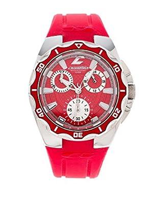 Chronotech Uhr mit Miyota Uhrwerk Active Boy rot 30  mm