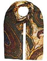 Shopatplaces Cashmere Stole In Cream-Multi