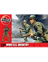 Airfix A02703 1:32 Scale US Infantry Figures Classic Kit Series 2