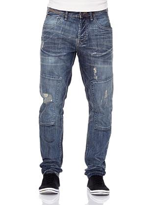 New Caro Pantalón Nibelungos (Azul Medio)