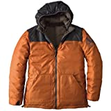 Reversible Down Jacket 678995: Military Brown / Terracotta