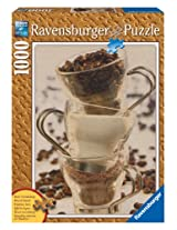 Coffee Ingredients 1000 Piece Wooden Structure Puzzle