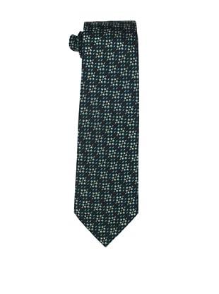 Valentino Men's Multi-Checkered Tie, Black/Green