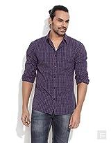 Wrangler Smart-Casual Checkered Shirt