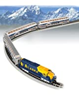 Bachmann Industries McKinley Explorer Ready To Run Electric Train Set Train Car, N Scale