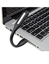 IndiSmack Flexible USB LED Light Lamp for Computer Laptop- Black