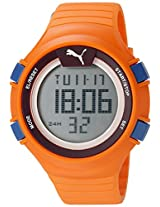 PUMA Unisex PU911281002 Faas 100 L orange Digital Display Watch
