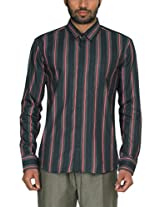 Zovi Mens Cotton Formal Shirt (1030304680140 _Multi-Coloured _40)