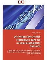 Les Lesions Des Acides Nucleiques Dans Les Milieux Biologiques Humains