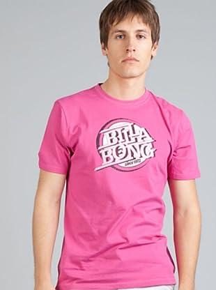 Billabong Camiseta Personalizada (Rosa)