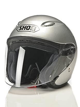 Shoei Casco J-Wing Monocolor Candy (Plata)