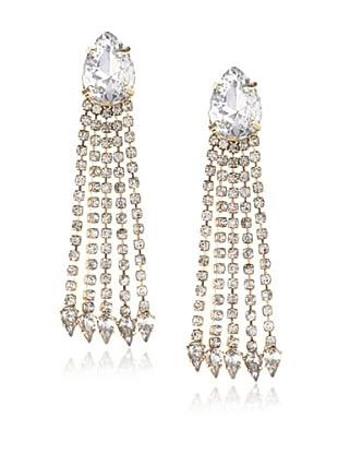 nOir Chrysler Fringe Earrings