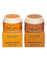 SATTVIK ORGANICS FEATHER SOFT HAND AND FOOT CREAM(Foot Care 100gm and Hand Care 100gm)