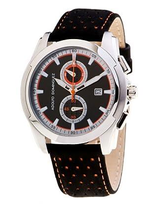 Adolfo Dominguez Watches 78102 - Reloj de Caballero cuarzo correa piel Negra