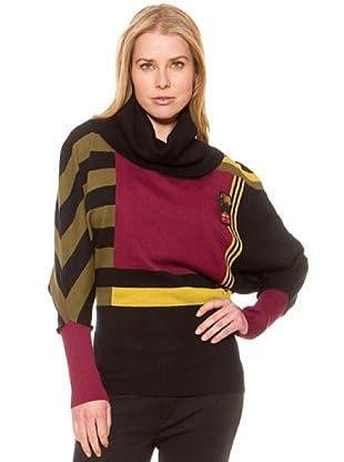 SideCar Jersey Punto Cuello Alto (Multicolor)