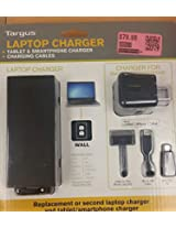 Targus - 90W Power Adapter for Select Laptops & USB Charger for Most Apple Devices