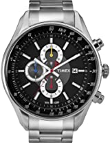 Timex Chronograph Black Dial Men's Watch - T2N153