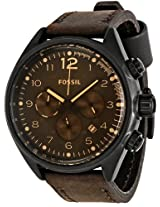 Fossil Men's CH2782 Flight Brown Dial Watch