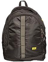 Liviya 38 Ltrs Black Casual Backpack