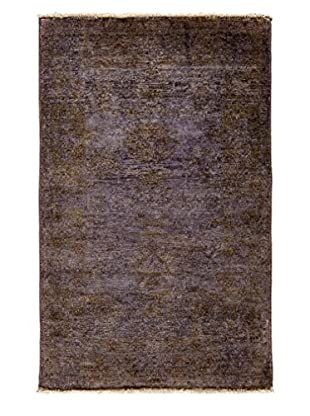 Solo Rugs Ziegler One of a Kind Rug, Silver, 3' x 5'