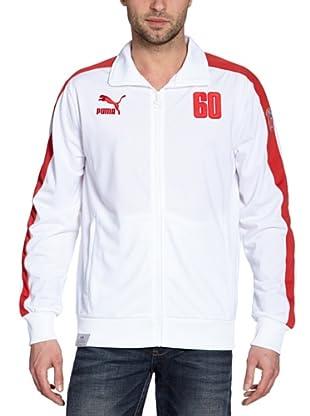 Puma Trainingsjacke Football Archives T7 (white-team regal red-ru)