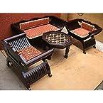 Mebelkart Roman Designer Chair And Sofa Set