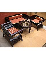 Mebelkart Roman Designer Chair And Sofa Set