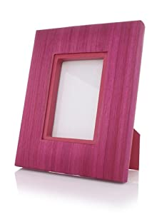 "Terragrafics Riviera 4"" x 6"" Picture Frame (Pink)"