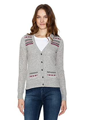 Tommy Sportwear Woman Chaqueta Pearl Fairisle (gris)