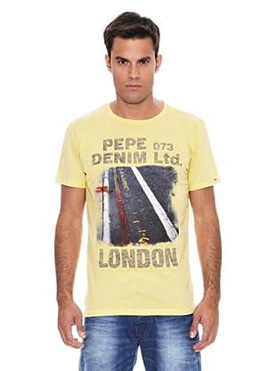 Pepe Jeans London Camiseta Endor (Amarillo)