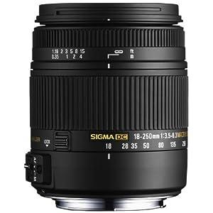 シグマ 18-250mm F3.5-6.3 DC MACRO OS HSM NA ニコン用