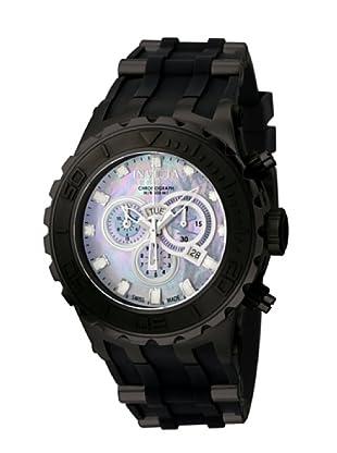 Invicta 508 - Reloj de Caballero cuarzo caucho Negro