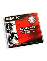 EMTEC 30 minutes/1.4 GB 4x Mini DVD-R in Jewel Case (1-Pack)