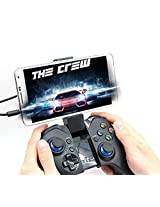 IPEGA PG-9038 2.4 G Wireless Bluetooth Gamepad Gaming Controller with Wireless Dongle for iPhone, PC, Android TV, Android Smart Phone - Black