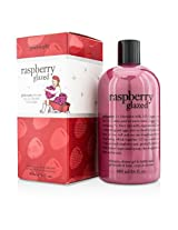 Philosophy Raspberry Glazed Shampoo, Shower Gel & Bubble Bath 480ml/16oz