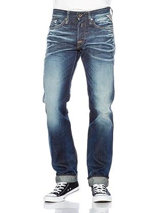Replay Pantalón Nassau Azul W33L32