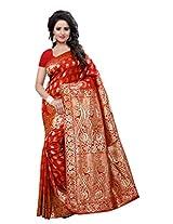 Shree Sanskruti Women's Banarasi Silk Sari
