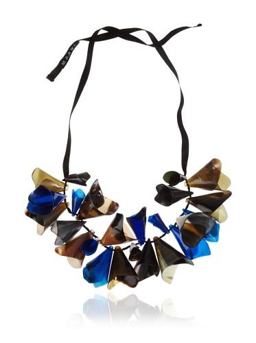MARNI Women's Grass Beaded Cone Necklace