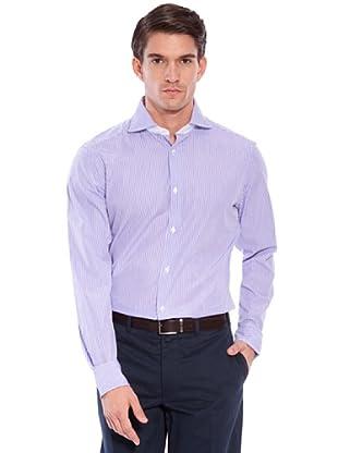 Hackett Camicia Righe (Porpora/Bianco)