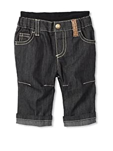Fendi Kid's Denim Pant (Navy blue)