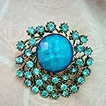 Stylish blue ring