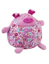 "Maison Chic Girls Round Pig Seating 14"" Plush Toy"