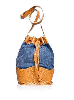 Pepe Jeans London Bolso Vedra Bag (Índigo / Camel)