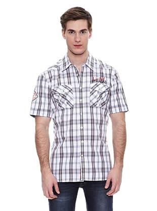Camisa Alachua (Blanco / Gris)