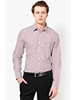 Brown Formal Shirt Allen Solly