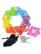 Qubits Construction Toy Beach/Travel Toy, Rainbow Assorted