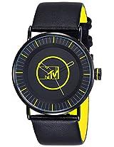 MTV Analog Black Dial Men's Watch - B7018GE